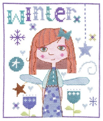 Winter Fairy Cross Stitch