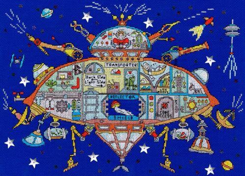 Spaceship - Bothy Threads Cut Thru'