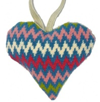 Bargello Lavender Heart Tapestry (Buy 2 for £27)
