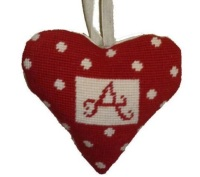 Alphabet Lavender Heart Tapestry (Buy 2 for £27)