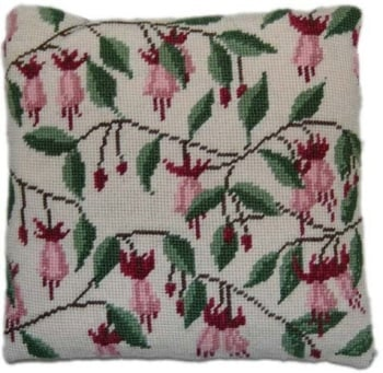 Fuchsia Herb Pillow Tapestry