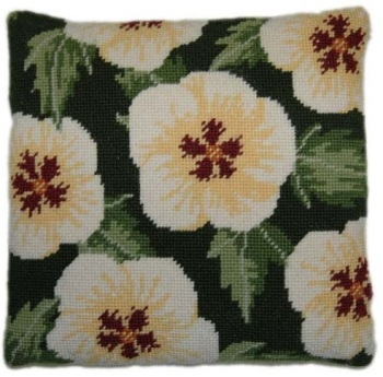 Hibiscus Herb Pillow Tapestry