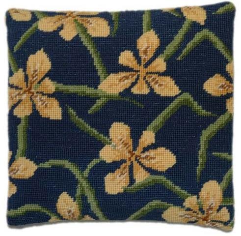 Yellow Iris Herb Pillow Tapestry