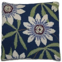 Passion Flower Herb Pillow Tapestry