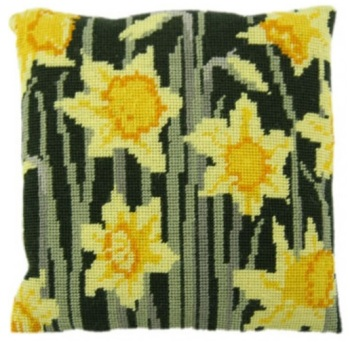 Daffodils Herb Pillow Tapestry