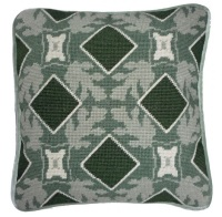 Green Leaf  Tile Tapestry Kit