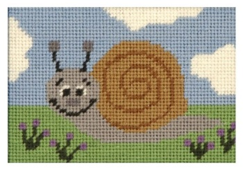 Sammy Snail Beginners Tapestry