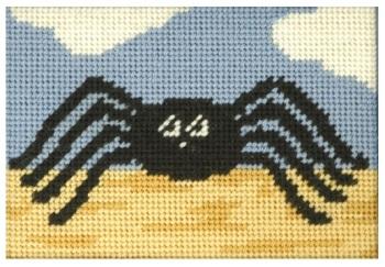 Susie Spider Beginners Tapestry