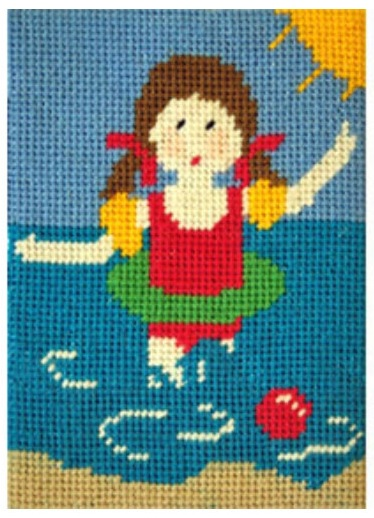 Daisy does Swimming Beginners Tapestry