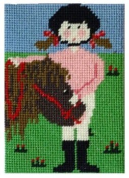 Daisy does Riding Beginners Tapestry