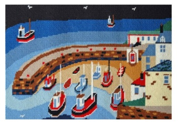 Old Harbour Tapestry Kit