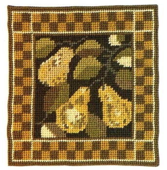 Pear - Small Tapestry Kit