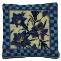 Gentiana - Small Tapestry Kit