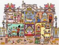 Buckingham Palace - Bothy Threads Cut Thru'