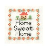 Home Sweet Home - Mini Cross Stitch Kit - Beginners