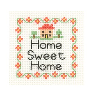 Home Sweet Home - Mini Cross Stitch Kit - Beginners