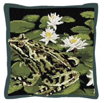 Garden Frog Tapestry Kit - Brigantia