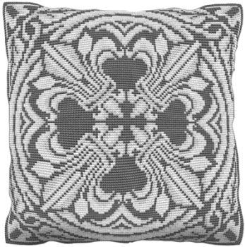 Barnstaple Marble - Cross Stitch (printed canvas)