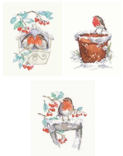 Hideaway, Watching and Garden Friend Robins