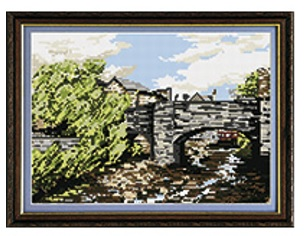 Hebden Bridge - Brigantia Tapestry