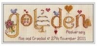 <!-- 026 -->Golden Anniversary 50 Years - Nia Cross Stitch