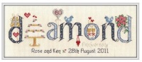 <!-- 028 -->Diamond Anniversary 60 Years - Nia Cross Stitch