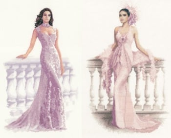 Francesca and Gabriella Set - John Clayton Cross Stitch