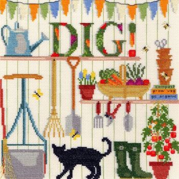 Dig! - Gardening Cross Stitch