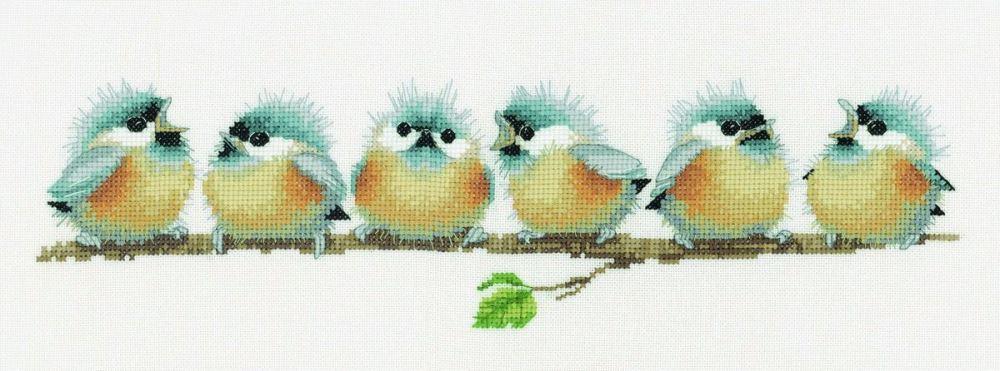 Chorus Line - Valerie Pfeiffer Cross Stitch