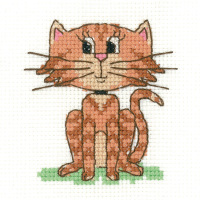 Cat Beginners Cross Stitch