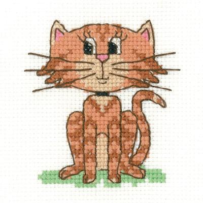 Cat Beginners Cross Stitch