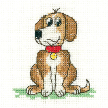 Dog Beginners Cross Stitch