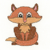 Fox Beginners Cross Stitch