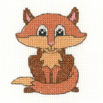 Fox Beginners Cross Stitch