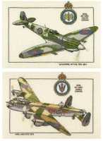 Spitfire and Lancaster Set - Heritage Crafts