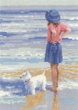 Wave Watching - Memories Cross Stitch