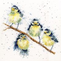Sweet Tweet cross stitch - Hannah Dale