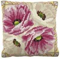 Leighton -  Cross Stitch Kit (printed canvas)