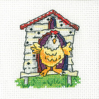 Hen House Card Kit - Heritage Crafts