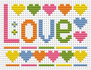Love Cross Stitch - Sew Simple