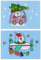 Set of 2 Xmas Cards - Simon Abbott
