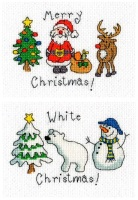 Set of 2 Xmas Cards - June Armstrong