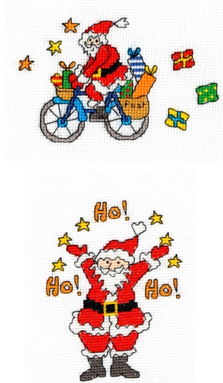 Set of 2 Xmas Cards - Amanda Loverseed