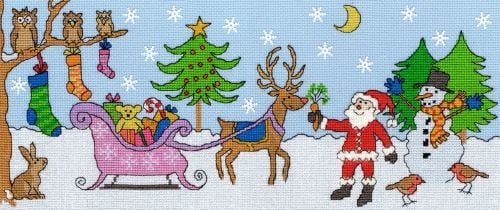 Santa has fun -  Bothy Threads Cross Stitch