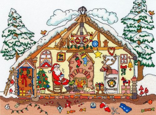 Christmas Bothy - Cut Thru'