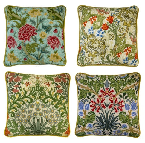 william morris inspired tapestry kits by bothy threads