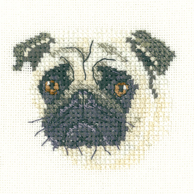 Pug Dog - Heritage Crafts 'Little Friends'