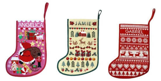 Tapestry Christmas Stockings