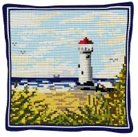 Lighthouse - Cross Stitch Kit (printed canvas)