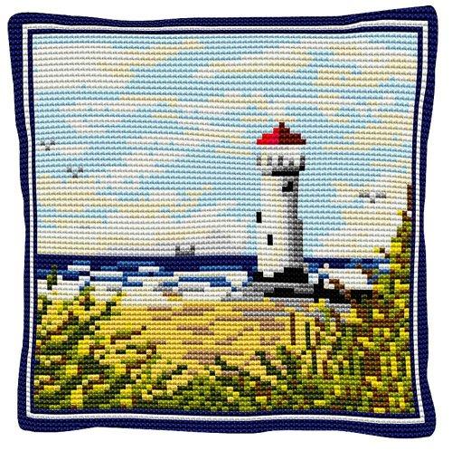 Lighthouse - Cross Stitch Kit (printed canvas)